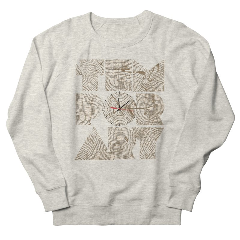 Temporary Women's French Terry Sweatshirt by bulo