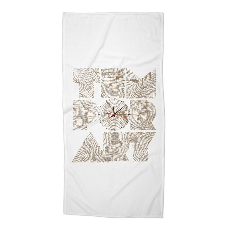 Temporary Accessories Beach Towel by bulo