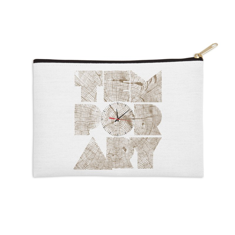 Temporary Accessories Zip Pouch by bulo