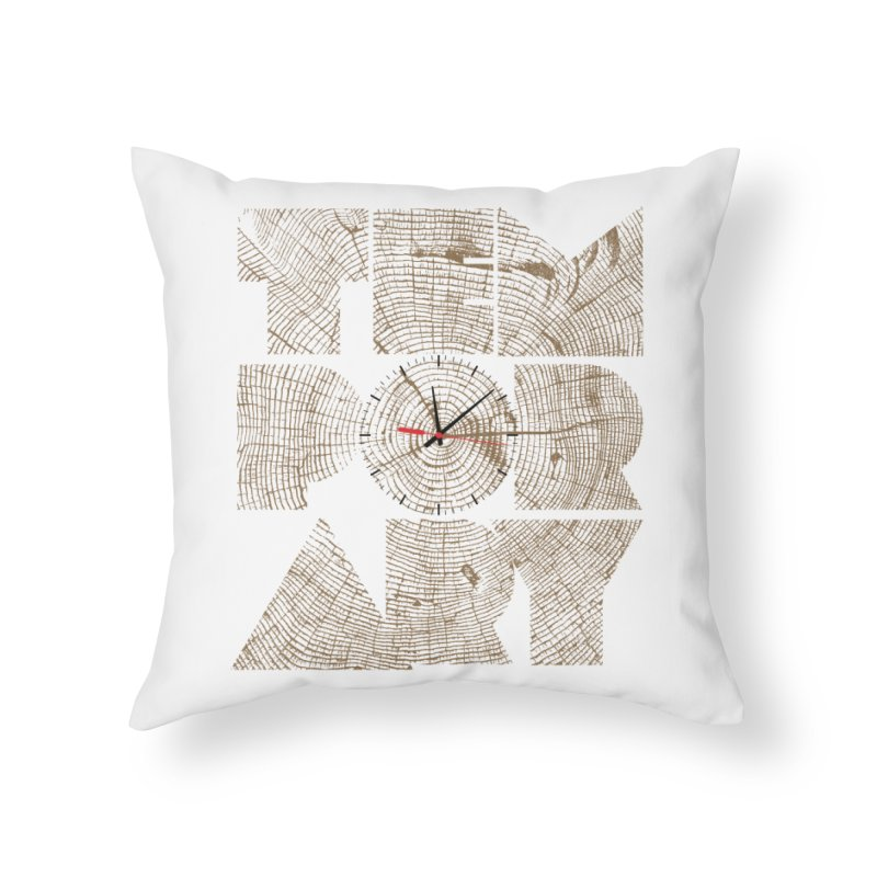 Temporary Home Throw Pillow by bulo