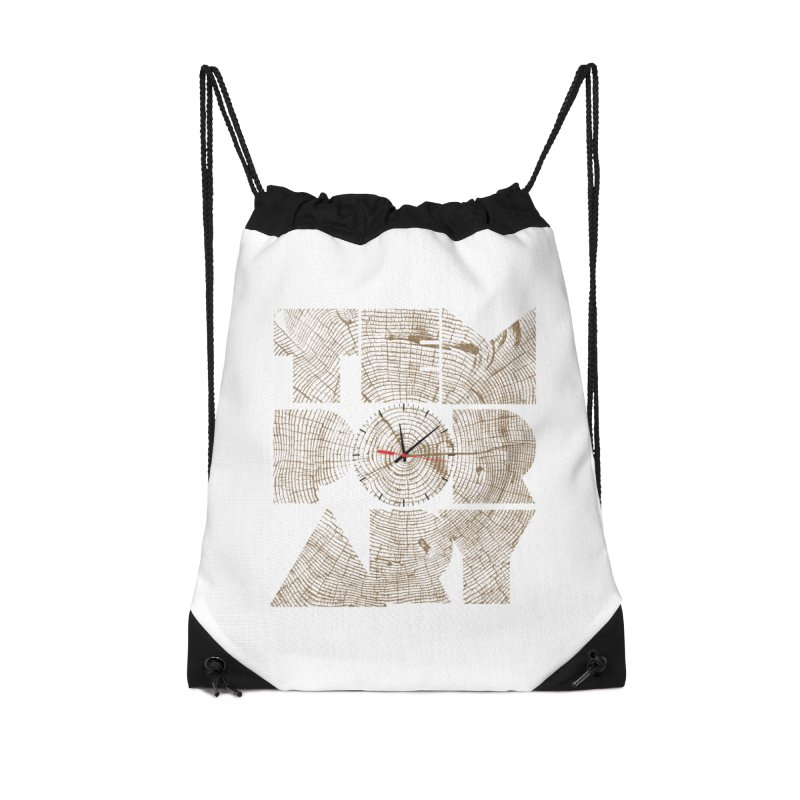 Temporary Accessories Drawstring Bag Bag by bulo