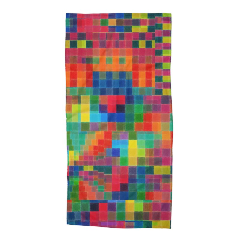 Chaos Accessories Beach Towel by bulo