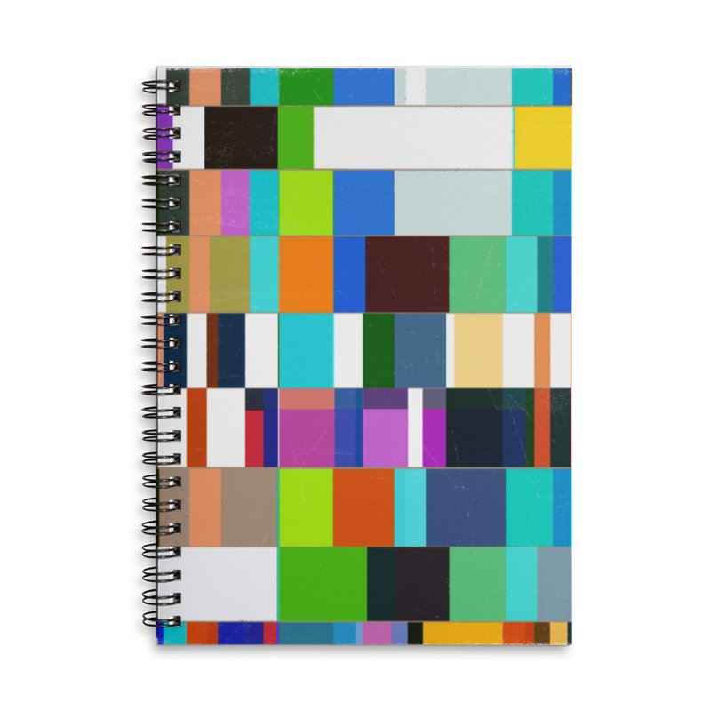 das mOdell Accessories Lined Spiral Notebook by bulo