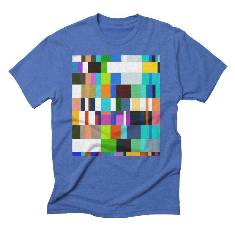 das mOdell in Men's Triblend T-Shirt Blue Triblend by bulo