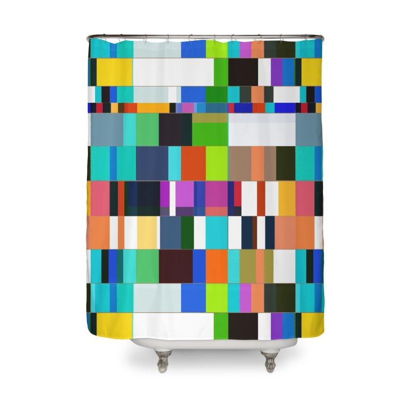 das mOdell Home Shower Curtain by bulo