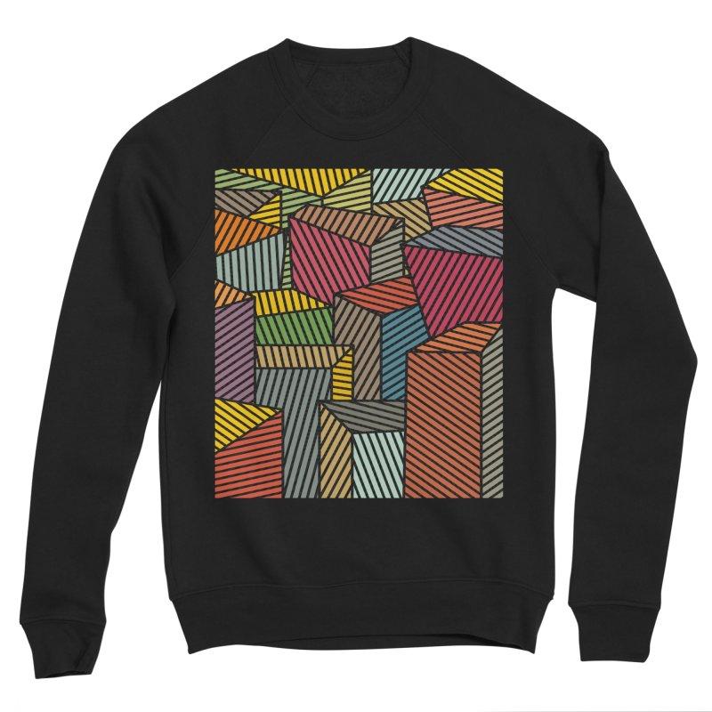 Architexture remix Men's Sponge Fleece Sweatshirt by bulo