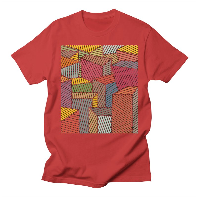 Architexture remix Men's Regular T-Shirt by bulo