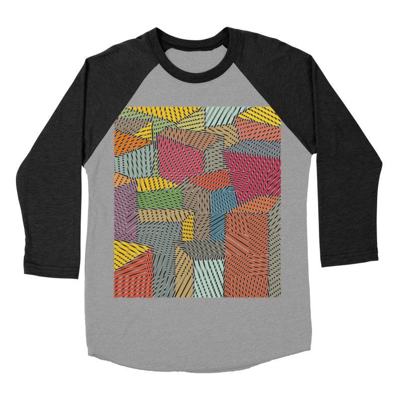 Architexture remix Men's Baseball Triblend Longsleeve T-Shirt by bulo
