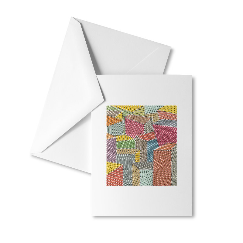 Architexture remix Accessories Greeting Card by bulo