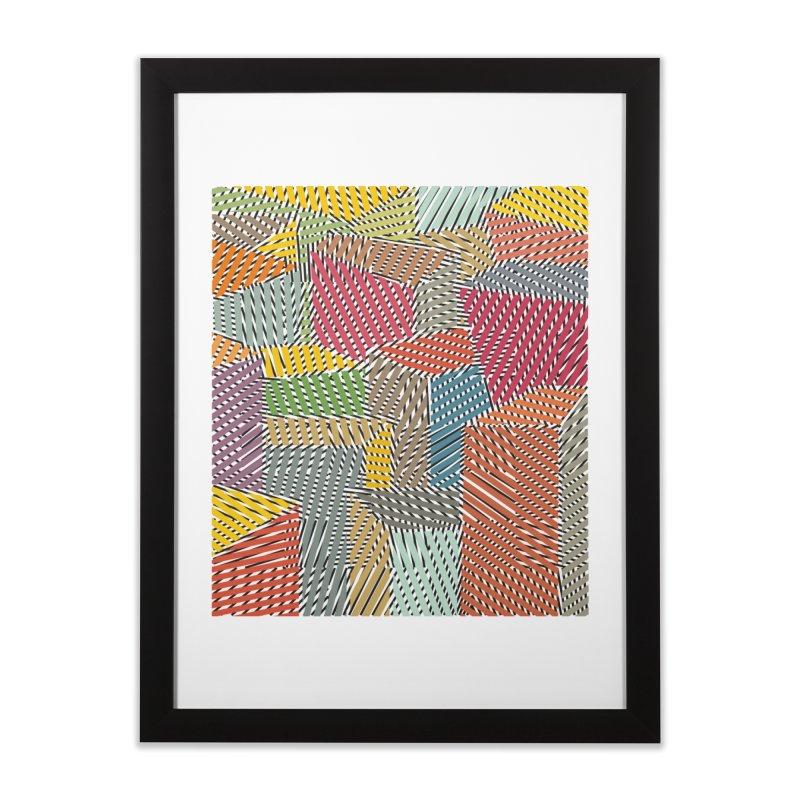 Architexture remix Home Framed Fine Art Print by bulo