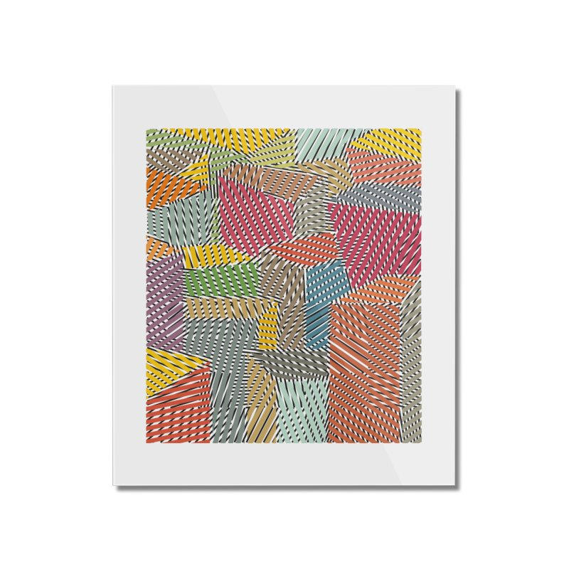 Architexture remix Home Mounted Acrylic Print by bulo