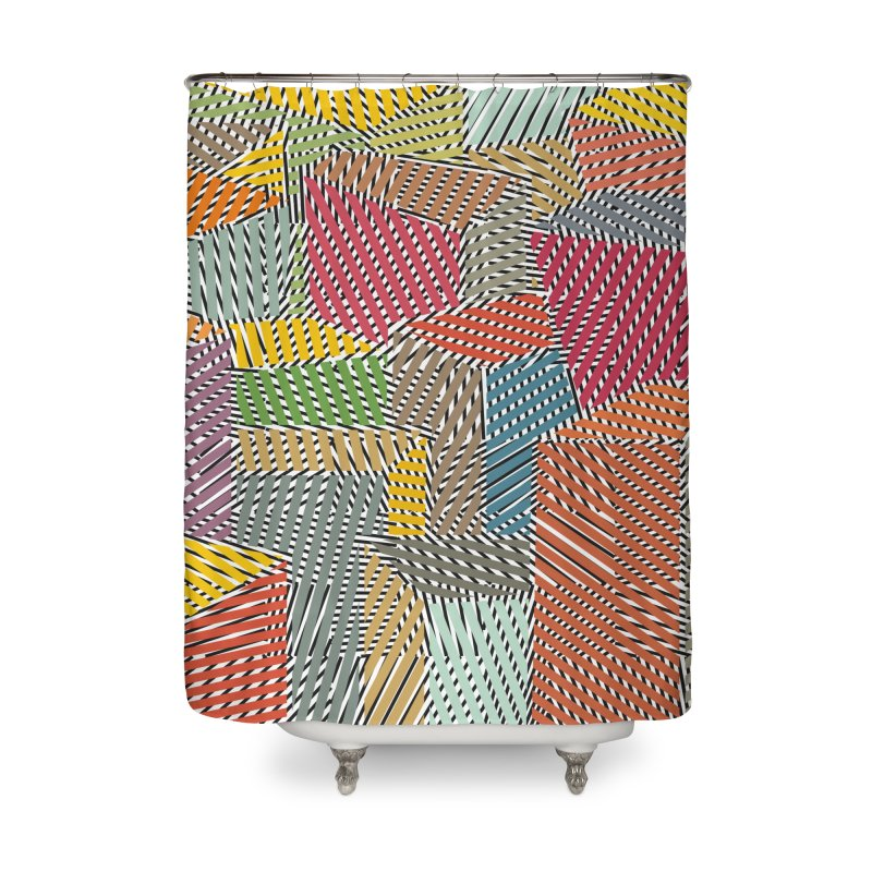 Architexture remix Home Shower Curtain by bulo