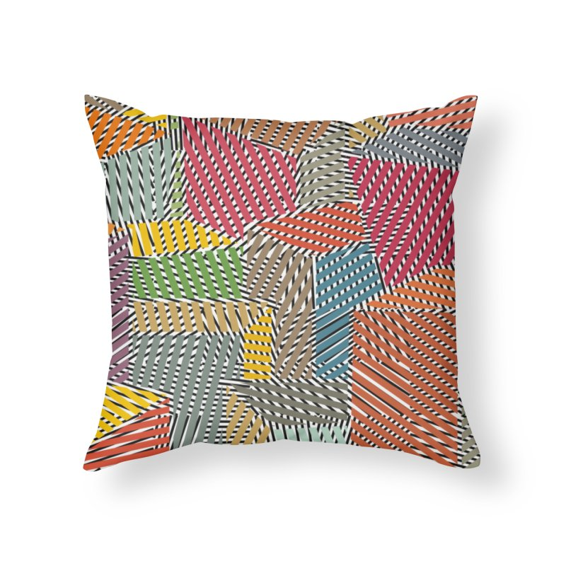 Architexture remix Home Throw Pillow by bulo