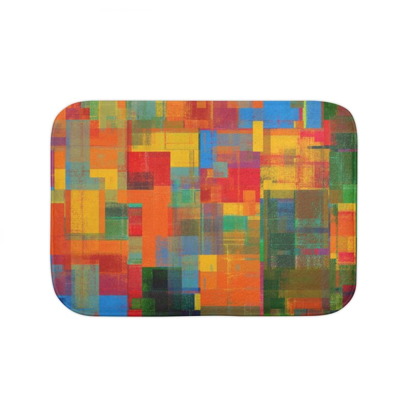 Decomposition Home Bath Mat by bulo