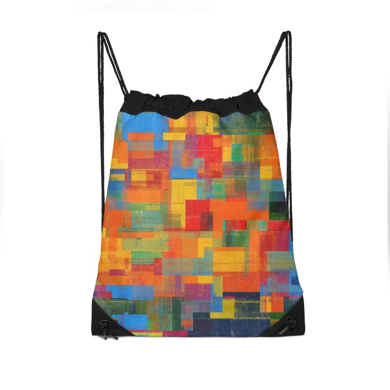 Decomposition Accessories Drawstring Bag Bag by bulo