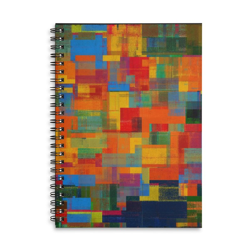 Decomposition Accessories Lined Spiral Notebook by bulo