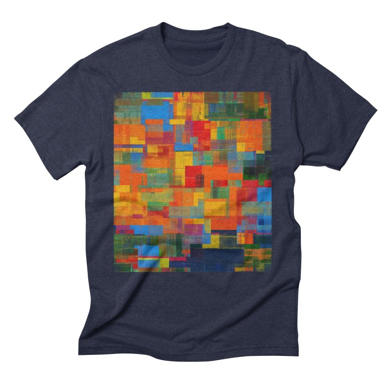Decomposition in Men's Triblend T-Shirt Navy by bulo