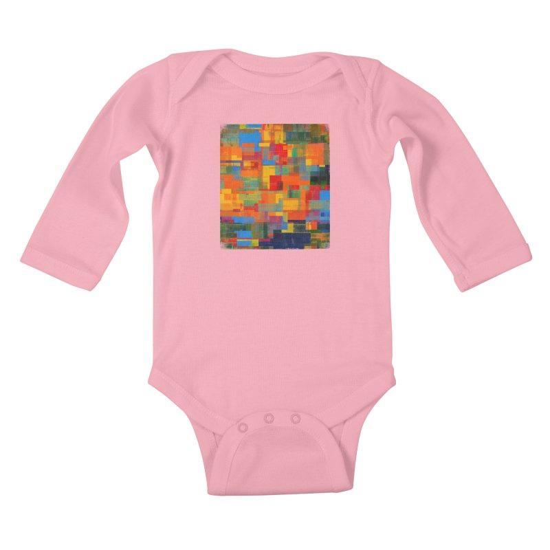 Decomposition Kids Baby Longsleeve Bodysuit by bulo