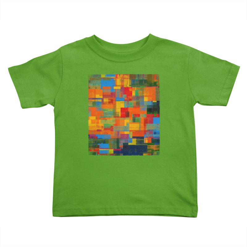 Decomposition Kids Toddler T-Shirt by bulo