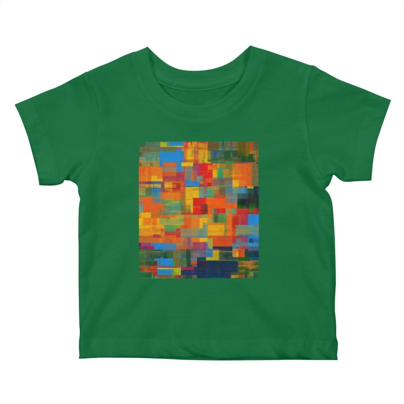 Decomposition Kids Baby T-Shirt by bulo