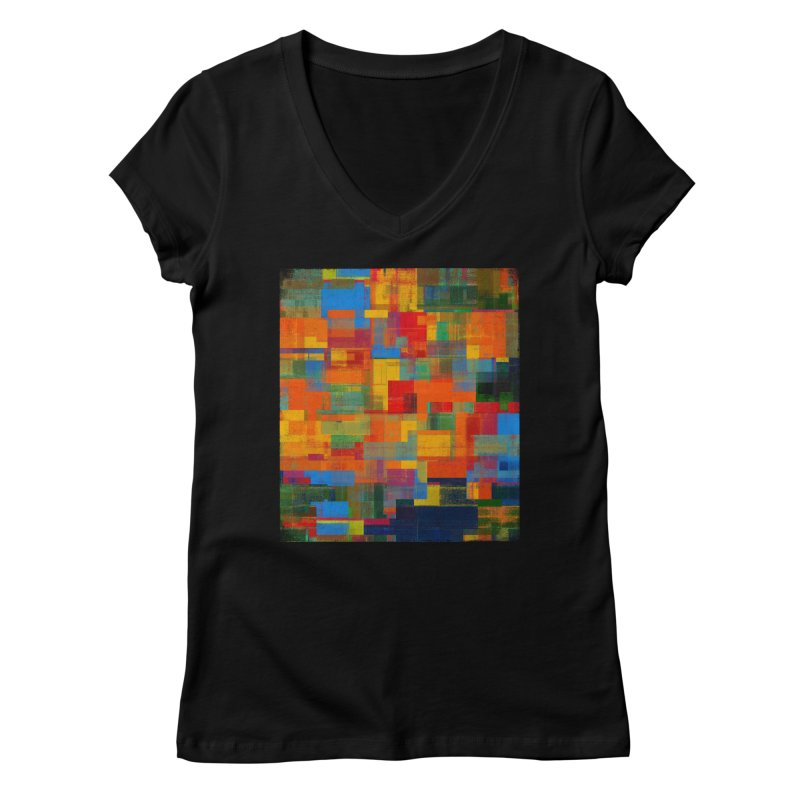 Decomposition Women's V-Neck by bulo
