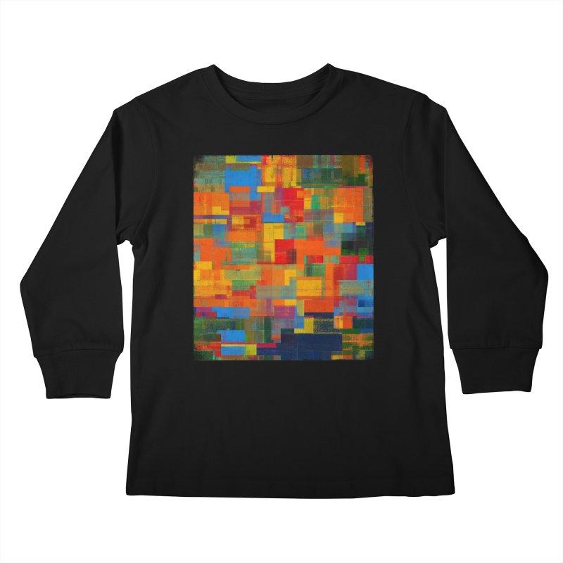 Decomposition Kids Longsleeve T-Shirt by bulo