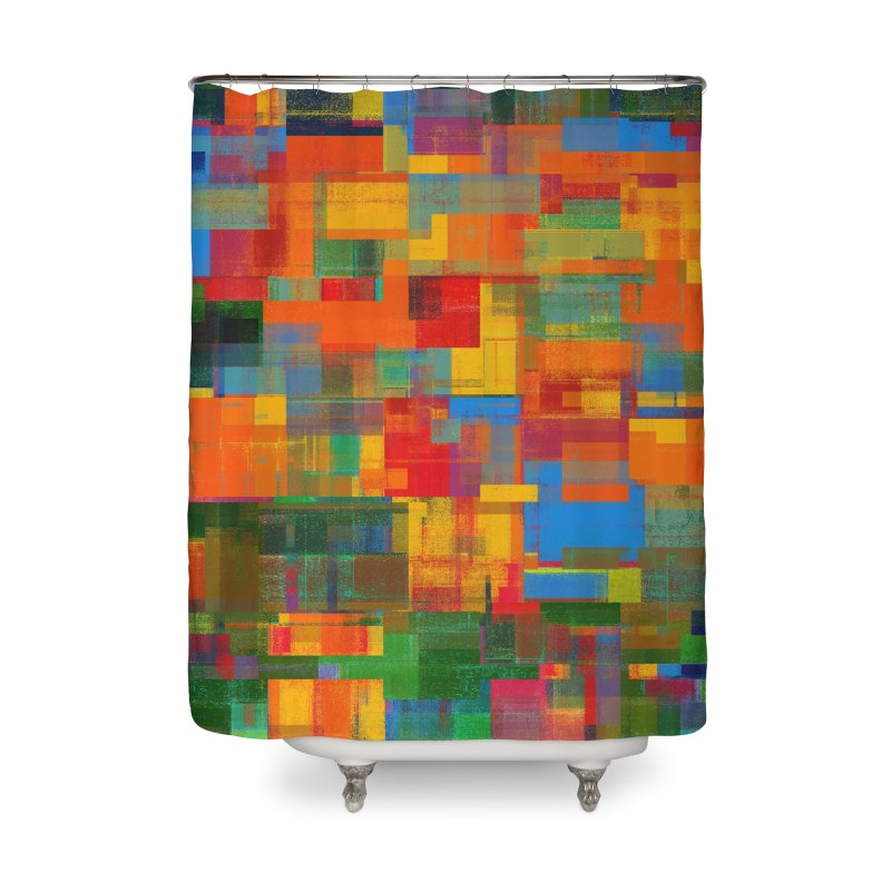 Decomposition Home Shower Curtain by bulo