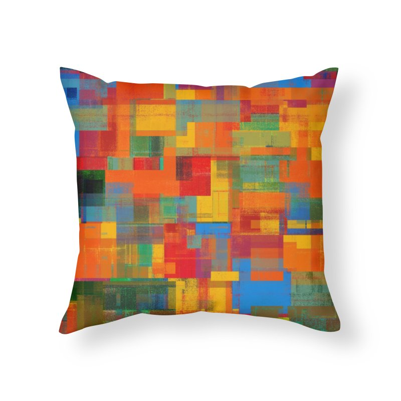 Decomposition Home Throw Pillow by bulo