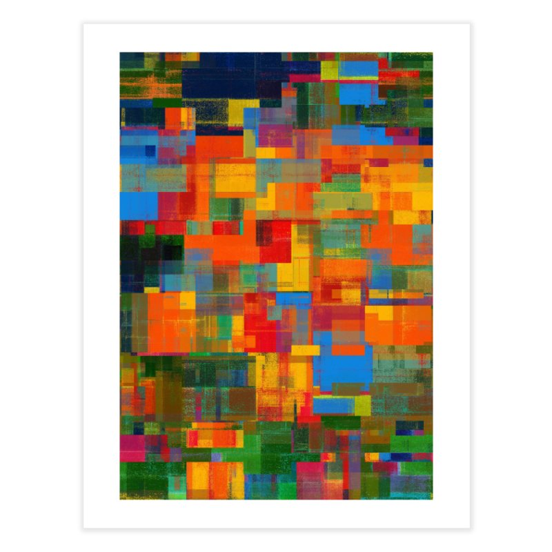 Decomposition Home Fine Art Print by bulo