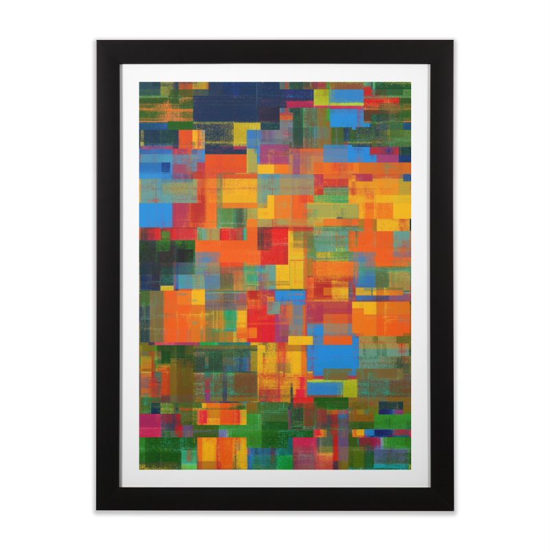 Decomposition Home Framed Fine Art Print by bulo