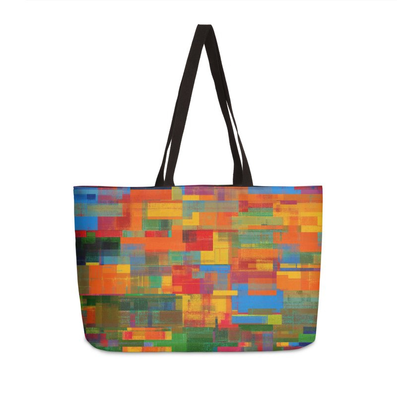 Decomposition Accessories Weekender Bag Bag by bulo
