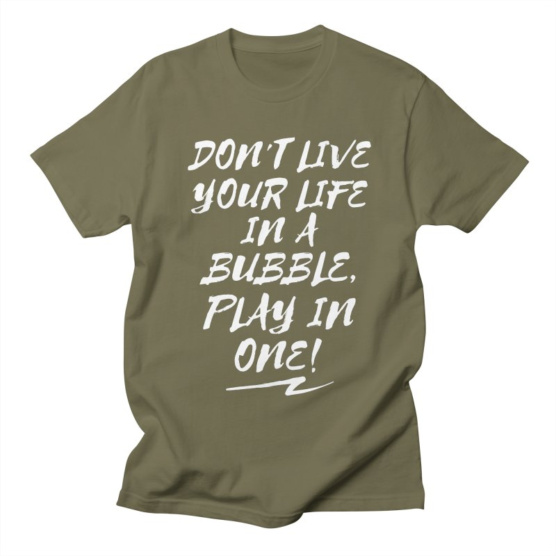 Slogan Basic Men's T-Shirt by Bump N Play's Shop