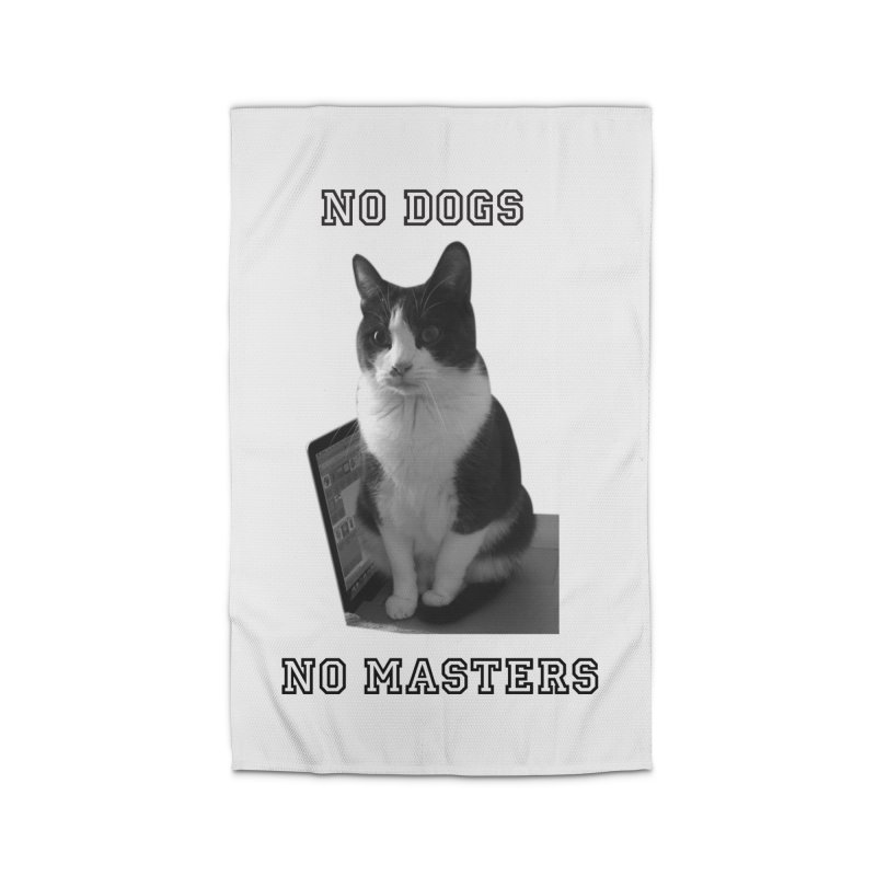 No Dogs No Masters Home Rug by bumsesh's Artist Shop