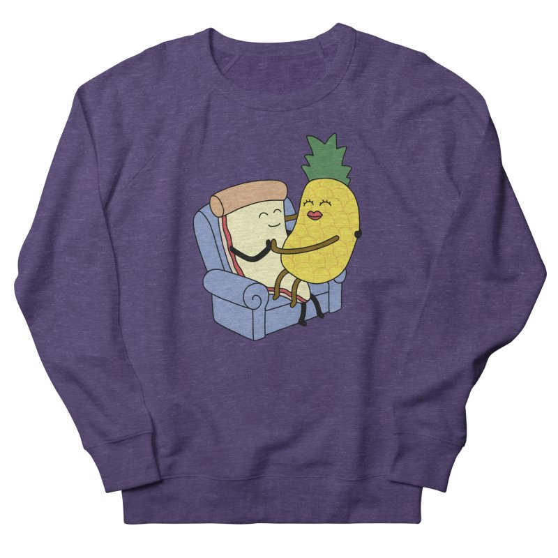 Pineapple Pizza Women's French Terry Sweatshirt by Buni