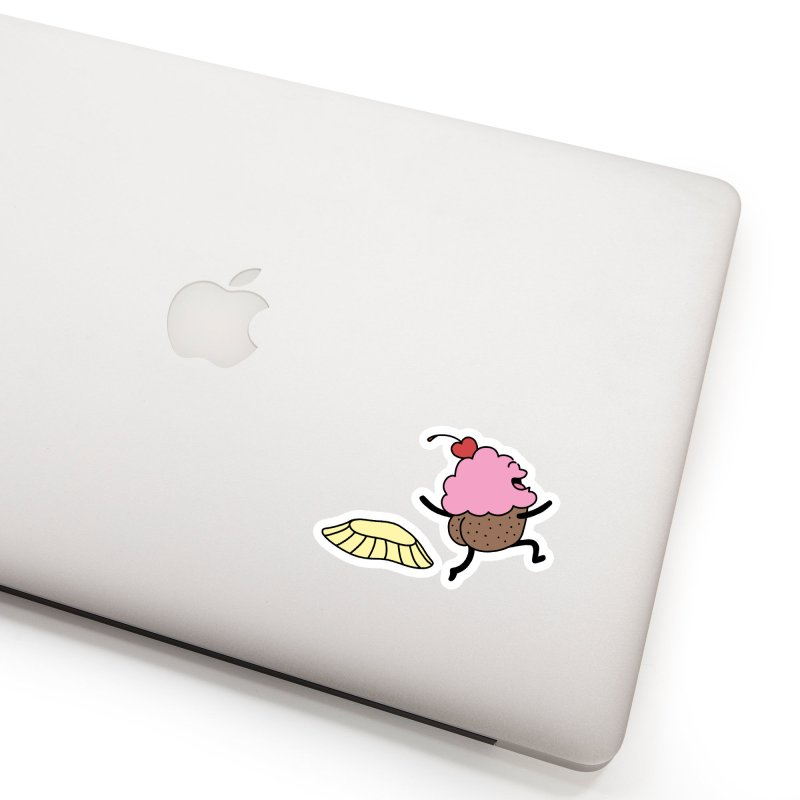 Naked Cupcake Accessories Sticker by Buni