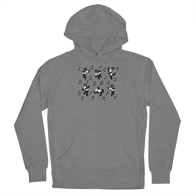 Dancing Men's French Terry Pullover Hoody by Buni