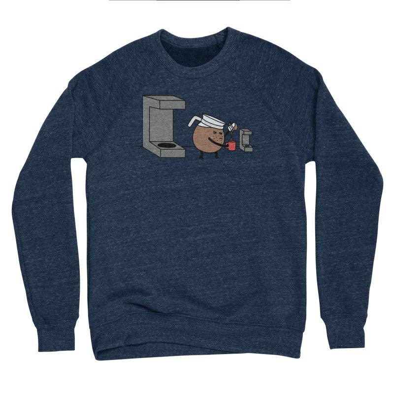 Little Coffee Women's Sponge Fleece Sweatshirt by Buni