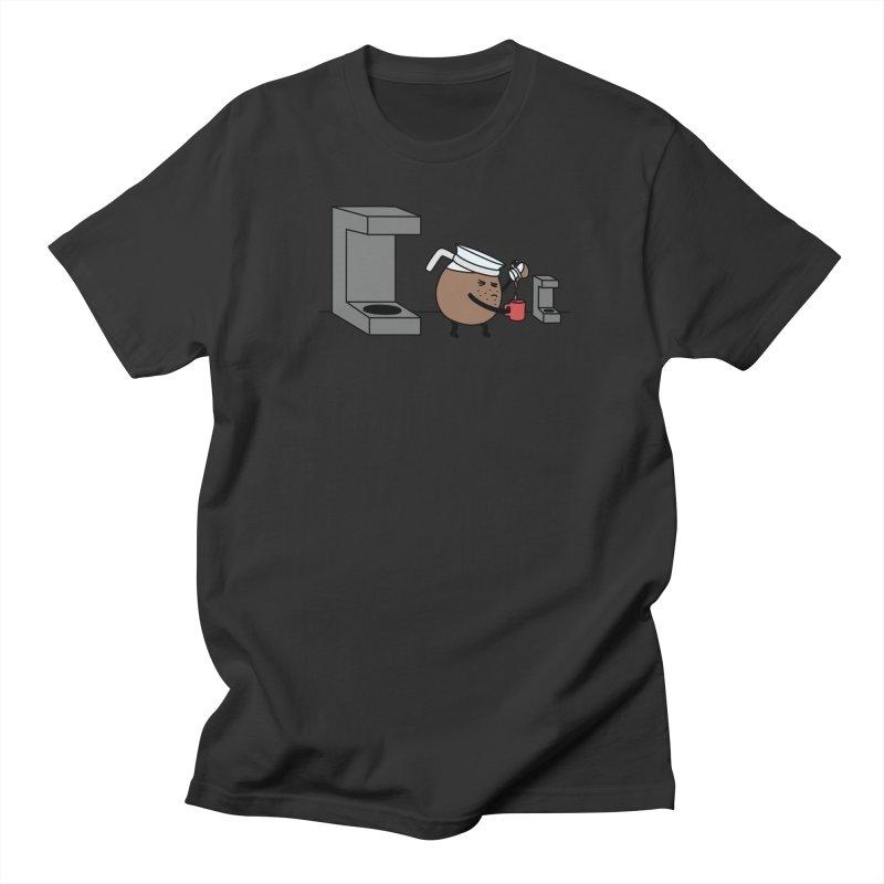 Little Coffee Men's Regular T-Shirt by Buni