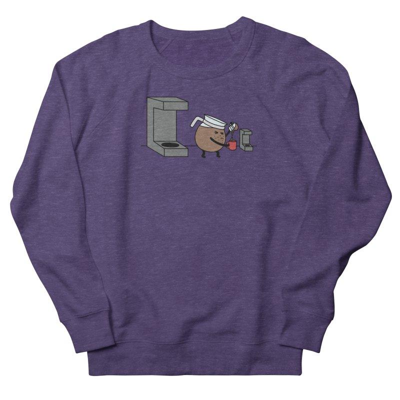 Little Coffee Women's French Terry Sweatshirt by Buni