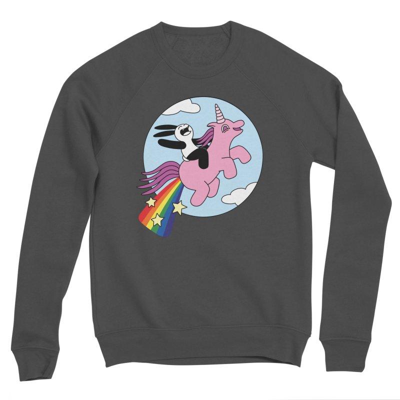 Unicorn Women's Sponge Fleece Sweatshirt by Buni