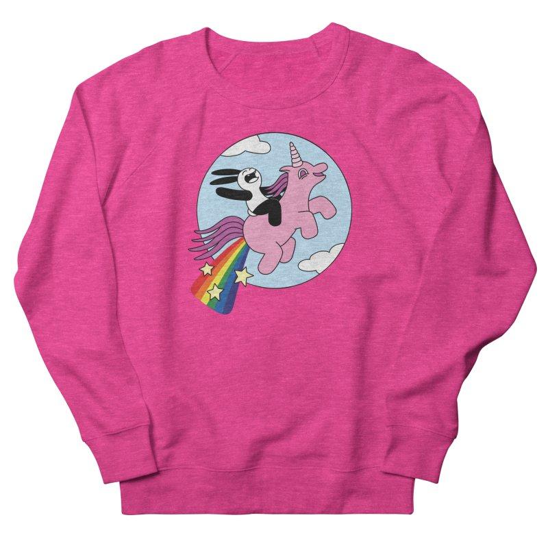 Unicorn Women's French Terry Sweatshirt by Buni