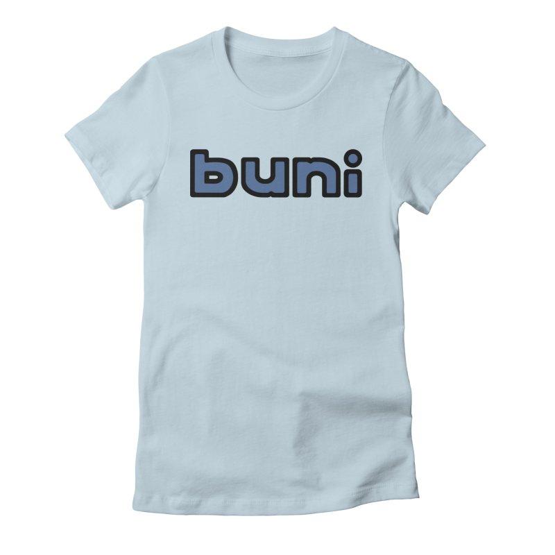Buni Logo Women's Fitted T-Shirt by Buni