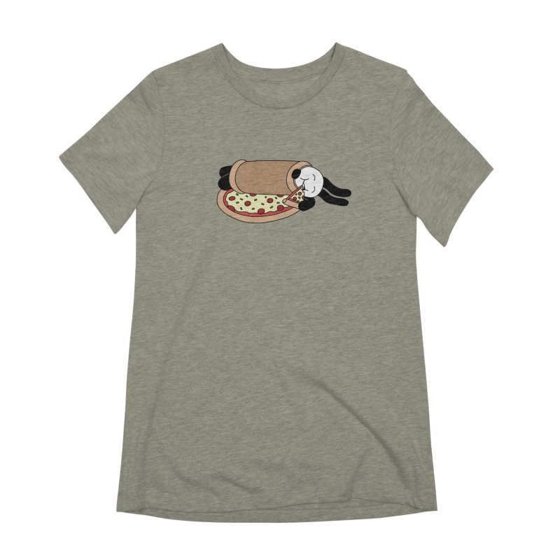 Pizza Blanket Women's Extra Soft T-Shirt by Buni
