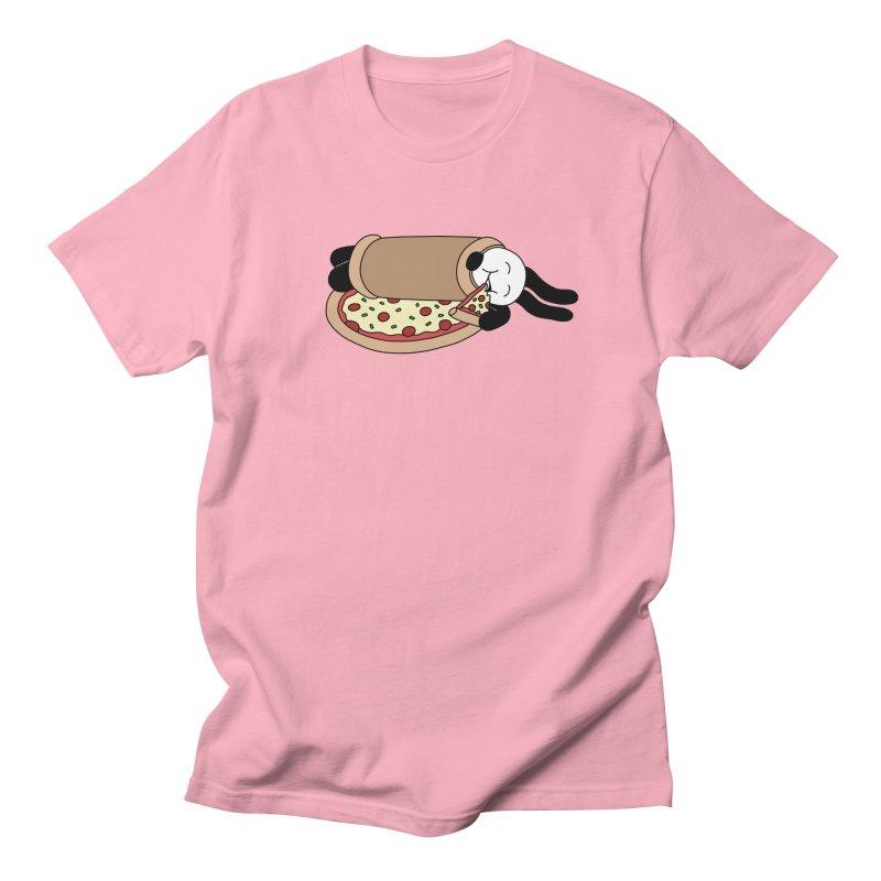 Pizza Blanket Men's Regular T-Shirt by Buni