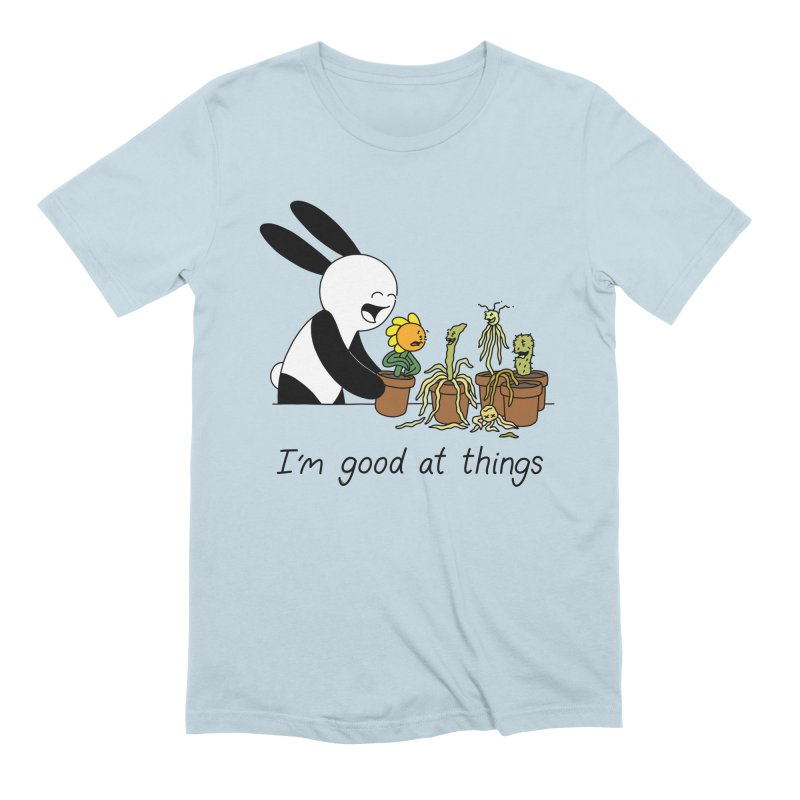 I'm Good at Things Men's Extra Soft T-Shirt by Buni