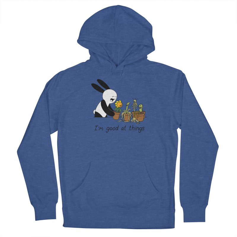 I'm Good at Things Men's French Terry Pullover Hoody by Buni