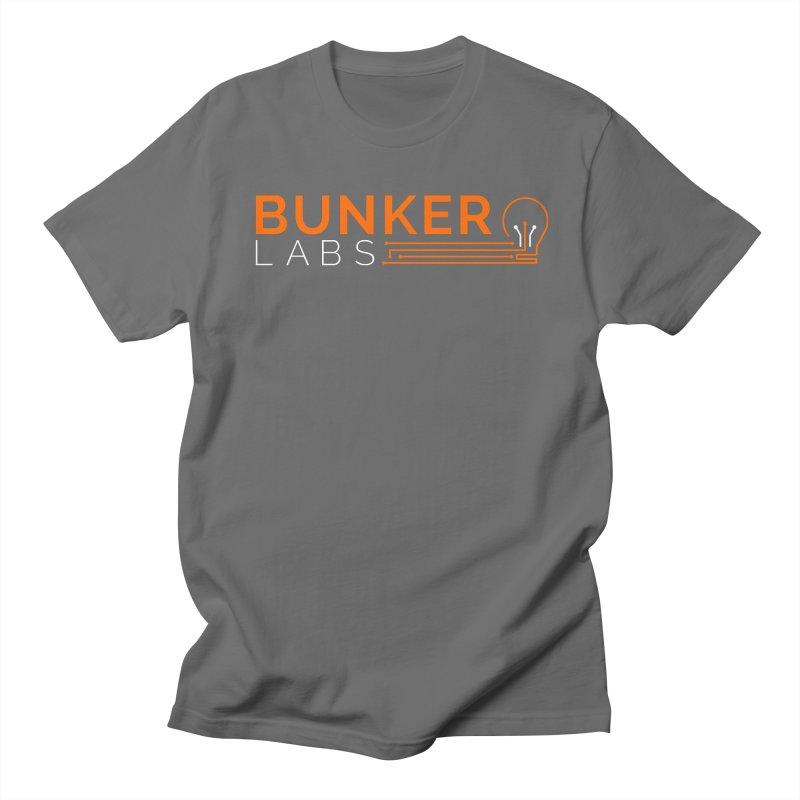 Bunker Labs Crew Neck T-shirt in Women's Regular Unisex T-Shirt Asphalt by Bunker Labs Shop
