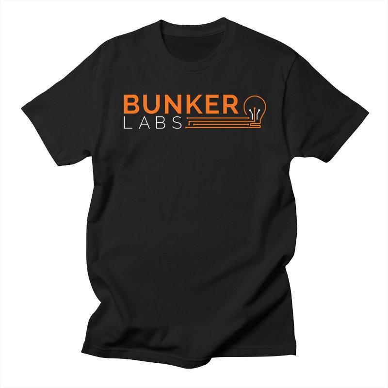 Bunker Labs Crew Neck T-shirt in Men's Regular T-Shirt Black by Bunker Labs Shop