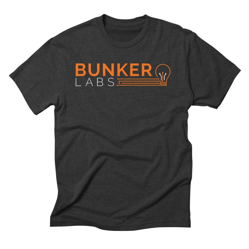 Bunker Labs Triblend T-shirt in Men's Triblend T-Shirt Heather Onyx by Bunker Labs Shop