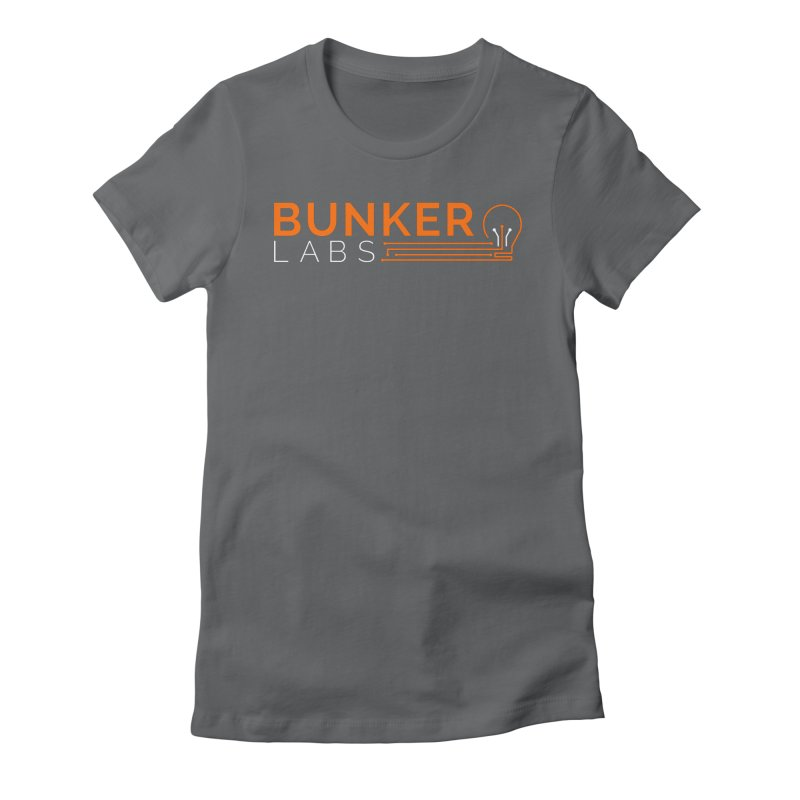 Bunker Labs Fitted T-shirt in Women's Fitted T-Shirt Heavy Metal by Bunker Labs Shop